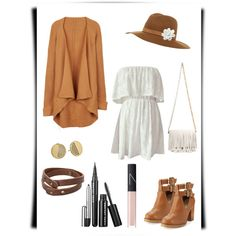 A fashion look from March 2015 featuring short white dresses, long cardi and heeled ankle boots. Browse and shop related looks. Seychelles, Proenza Schouler, Nars Cosmetics, White Shorts, Mango, Kate Spade, White Dress, Fashion Looks, Autumn