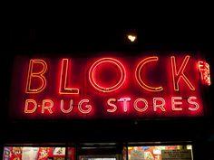 BLOCK DRUG STORES