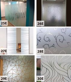 esmerilados diseños oficina ventanas vidrieras - home design