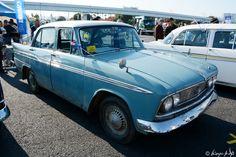 1962年のマイナーチェンジでグリルとヘッドランプが一体となった初代プリンス スカイラインの後期モデル03 prince skyline 141123R-0503s960