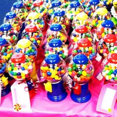 Thank you gifts from Gracie's Candyland theme party.