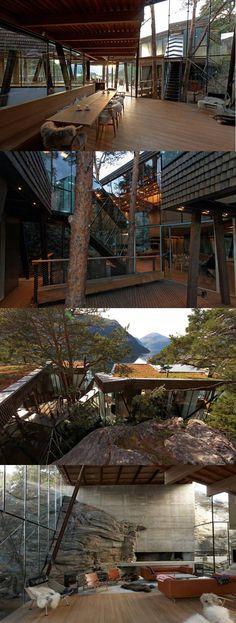 Summer House in Storfjord by Jensen & Skodvin