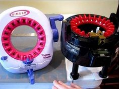 Singer Knitting Machine Demo/Review Compared to Addi  Express Professional