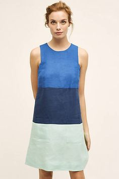 Tritone Shift via Anthro Shift Dresses, Summer Dresses, Tunic Dresses, Pretty Outfits, Pretty Dresses, Celebrity Look, Clothing Patterns, Dress Outfits, Fashion Dresses