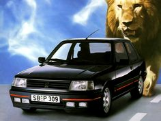1986–89 Peugeot 309 GTi