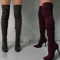 love this boots High Heel Boots, Heeled Boots, Shoe Boots, High Heels, Shoes Heels, Pretty Shoes, Cute Shoes, Me Too Shoes, Casual Heels