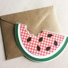 A personal favorite from my Etsy shop https://www.etsy.com/listing/237413133/free-shipping-watermelon-invitation