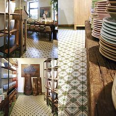 Old cement tiles by VIA