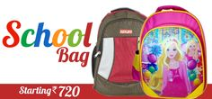 Parents are mostly worried about their kids when it comes to shopping for kids. Online shopping for School Bags is not that difficult from EBazar.Ninja, you just need to visit their website & have to select the appropriate school bag for your kids. We are offering a wide collection of school bags for boys and girls at best price. To Buy Stylish and Fashionable School Bags for your kids, just visit here :  http://www.ebazar.ninja/browse/school-bag
