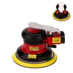 Professional Air Random Orbital Palm Sander, Dual Action Pneumatic Sander, Low Vibration, Heavy Duty ** You can find out more details at the link of the image. (This is an affiliate link) Best Random Orbital Sander, Hand Sander, Power Sander, Garage, Shops, Woodworking Inspiration, Heat Treating, Air Tools, Woodworking Projects