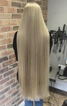 Pin by joseph r luna on i love long hair women! Very Long Hair, Braids For Long Hair, Long Curly Hair, Curly Hair Styles, Long Platinum Blonde, Long Blond, Beautiful Long Hair, Gorgeous Hair, Permed Hairstyles