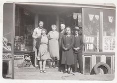 Store front, 1930s