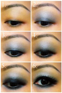Simple smoky eye, for Asian eyes! Finally!!