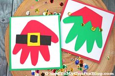 Tis' the season for handmade gifts and tons of crafty fun!!! If you are looking for an easy keepsake idea for the kids to make and gift to the grandparents and/or other family members this holiday season, these Santa & Elf Handprint Christmas Cards are just for YOU! Today I'm sharing some inspiration on how to make these …