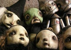 Friday Favorites: The Art of Scott Radke - Stainless Steel Droppings Gothic Dolls, Art Prompts, Halloween Doll, Cute Polymer Clay, Arte Horror, Tiny Dolls, Paperclay, Creepy Dolls, Creepy Cute
