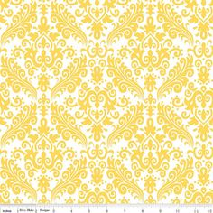 Hollywood Damask Fabric by Riley Blake Fabrics by fabricshoppe