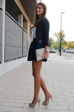 Classic look- love the heels