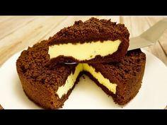 Čokoláda Koláč z Tvaroh Nádivka - YouTube Cake Factory, Chocolate Pies, Cottage Cheese, Food Videos, Tiramisu, Cheesecake, Ethnic Recipes, Desserts Faciles, Ricotta