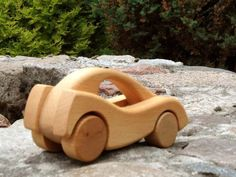 Wooden Toys – City Classic Coupe Wooden Car – a unique product by Desdeco on DaWanda