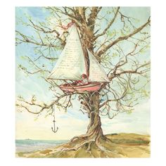 Claire Fletcher Story tree print
