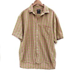 Victor Van Liemt Shirt from Ibiza Mens XL Checked Multicoloured cotton vgc Vivienne Westwood Man, Paul Shark, Check Shirt, Mens Xl, Ibiza, Boy Outfits, Long Sleeve Shirts, Short Sleeves, Men Casual