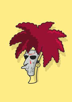 90s Nickelodeon Cartoons, Retro Cartoons, Simpsons Funny, Simpsons Art, Bob Patiño, Simpsons Characters, Cool Forearm Tattoos, Halloween Horror, Anime Comics