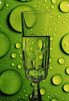 Green Glass by Youssef Elboukhari