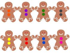 Gingerbread Boy Color Bingo Game - My Winter Break 2020 Easy Christmas Treats, Homemade Christmas Cards, Christmas Bingo Printable, Gingerbread Man Book, Colorful Christmas Tree, Simple Christmas, Preschool Colors, Preschool Ideas, Holiday Games