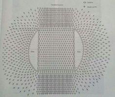 Kruhová vesta háčkovaná