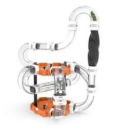 Hexbug Nano v2 Helix 180 large play set 477-2909 3 Rubber Spines Tubular Tracks #InnovationFirst