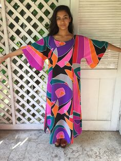 Reserved Vtg 70s Lucie Ann op art like pucci by AnimalVintageMiami