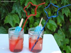 Fun Food for the 4th of July...Rocket Pop Sodas