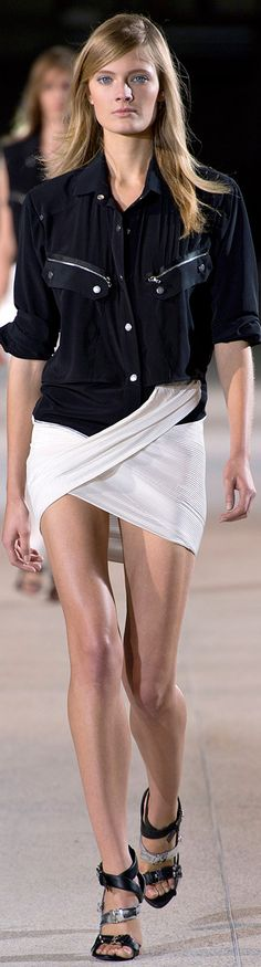 Anthony Vaccarello Runway Spring 2013