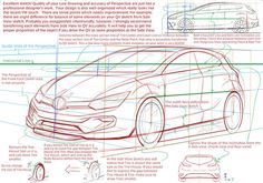 """Professional Car Designer evaluated, """"Excellent!"""" on this Free Trial Sketch…"""