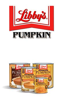 Libby's Pumpkin | NESTLÉ® USA Libby's Pumpkin Pie Filling is the BEST. Don't bother buying anything else!