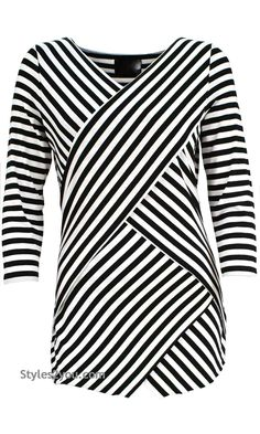 Amedea Blouse In Black And White,  Womens Fashion, Womens Styles, Boho, Boho Chic, Clothing for Women from Styles2you.com