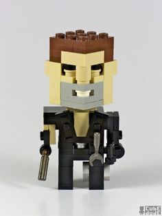 Pop culture icons in Lego by Cube Dude : MAD MAX