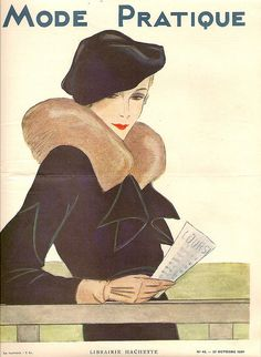 1934 Mode Practique Cover, October