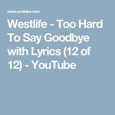 1000 ideas about westlife lyrics on pinterest you raise me up westlife songs and maher zain. Black Bedroom Furniture Sets. Home Design Ideas