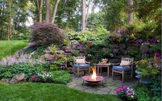 Designed by Pennsylvania (U.S.) firm Gasper Landscape Design.