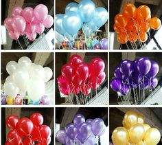 Wholesale 100pc/lot 10' Inch1.5g Helium Latex Balloons Party Wedding Birthday Christmas Event Decoration Balloon Free Shipping-in Event & Pa...