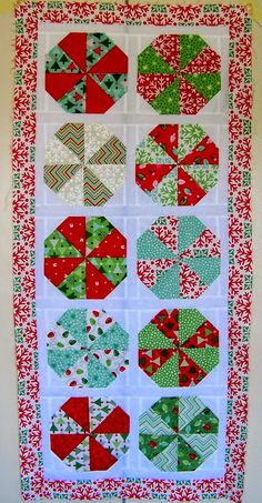 = tutorial = Christmas Joy Runner by Cape Pincushion (South Africa)