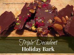 Triple Decadent Holiday Bark -