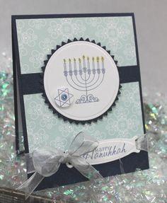 Happy Hanukkah Card Front