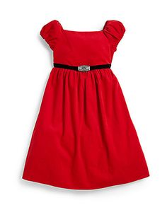 Ralph Lauren - Toddler's & Little Girl's Corduroy Party Dress - Saks.com