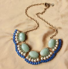 LOVE.  Bohemia Designed Chokers Nature Gemstones Necklace