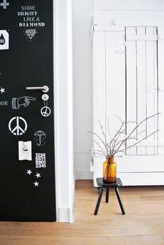 deur schoolbordverf