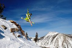 chutes skiing by Mt. Rose Ski Tahoe, via Flickr