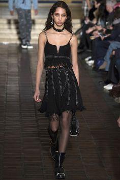 Alexander Wang Fall 2016 Ready-to-Wear Fashion Show - Yasmin Wijnaldum