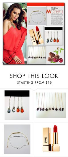 """""""www.etsy.com/shop/iCANbyTrinity 2 / 20"""" by selmamehic on Polyvore featuring moda i Yves Saint Laurent"""